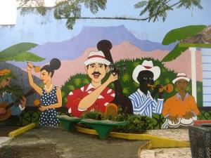 Mural in Baracoa Photo by Kimberley (c)2014