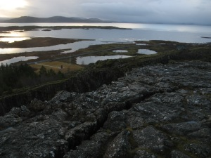 The meeting of two tectonic plates Photo by Kimberley (c)2016